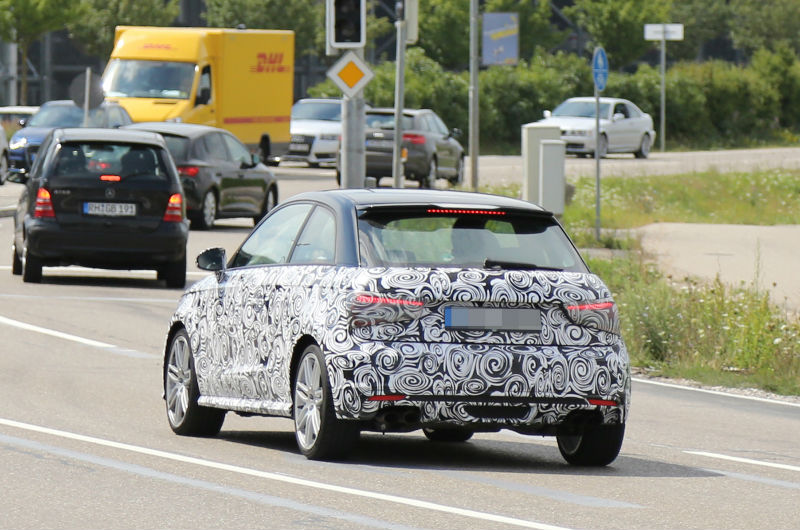 2014 Audi S1 spotted Back View
