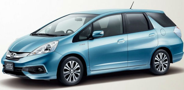 2014 Honda Fit Shuttle facelift