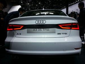 Audi A3 35 TFSI Back View