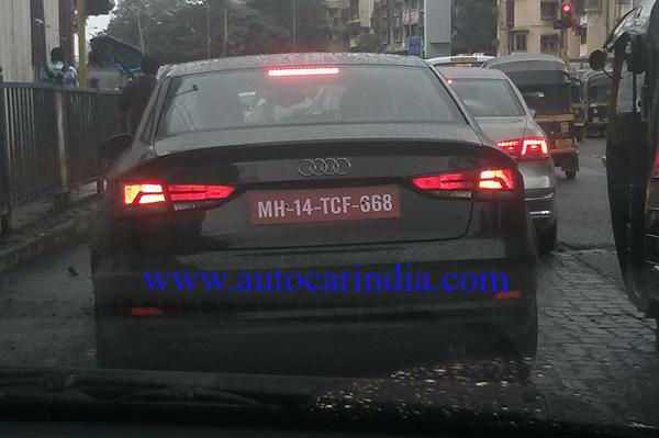 Audi A3 spied
