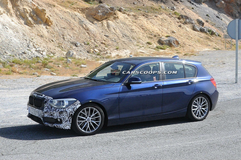 BMW 1 Series facelift 2013