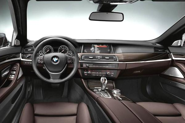 BMW 5-series Interiors