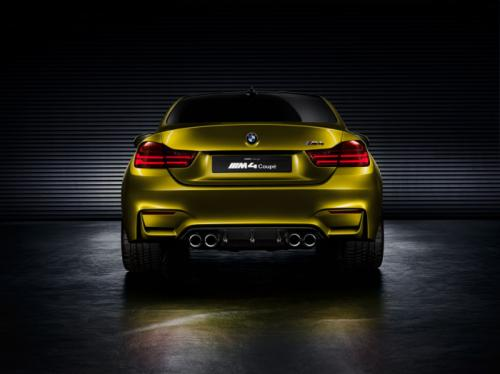 BMW M4 Coupe concept Back View