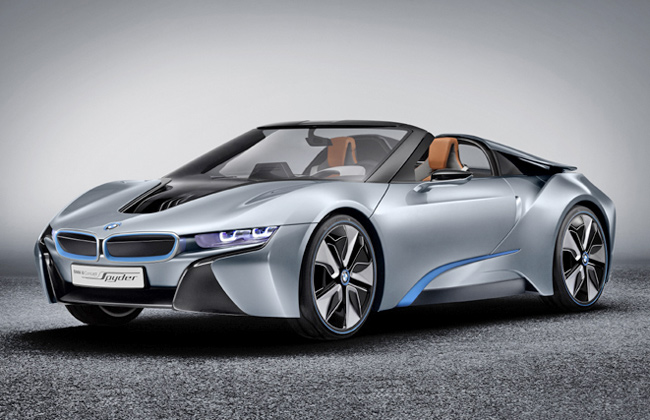 BMW i8 to Debut at Frankfurt Motor Show