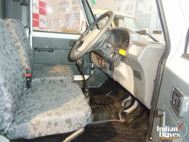 Bolero Maxi Truck Plus Interiors