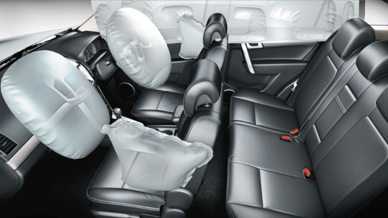 Chevrolet Captiva facelift Interiors