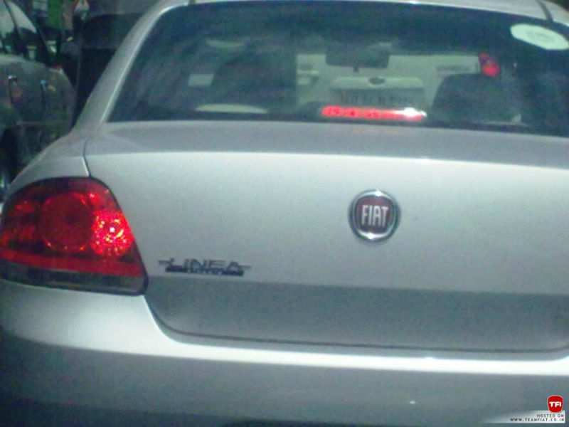 Fiat Linea Classic Spied