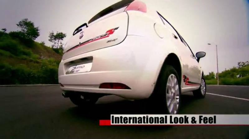 Fiat Punto Back View