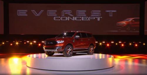 Ford Australia Unveils Everest Concept