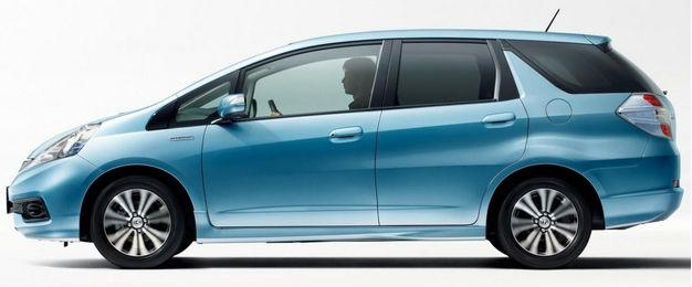Honda Fit Shuttle facelift