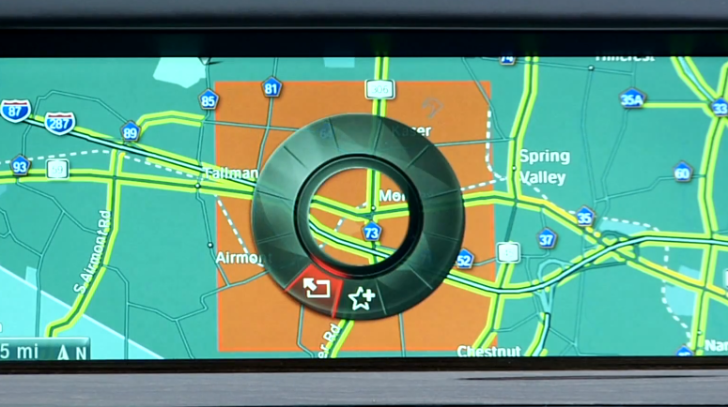 How to program BMW's Navigation system to avoid certain areas on route
