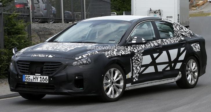 Hyundai Sonata Caught Testing