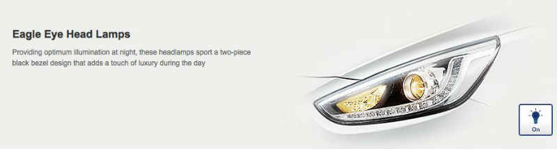Hyundai Verna LED Headlamp