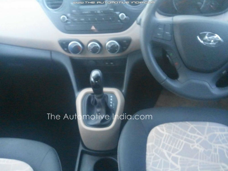 Hyundai i10 Grand interiors