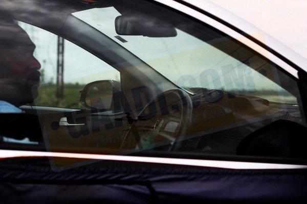 Hyundai i15 spy shots