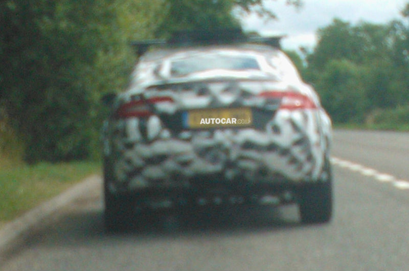 Jaguar SUV spied for the first time ever