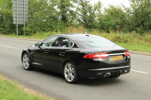 Jaguar XF spotted Back View