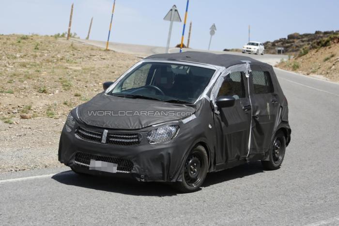 Maruti Suzuki A-Star Spied