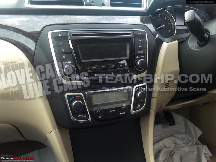 Maruti Suzuki YL1 Sedan Caught