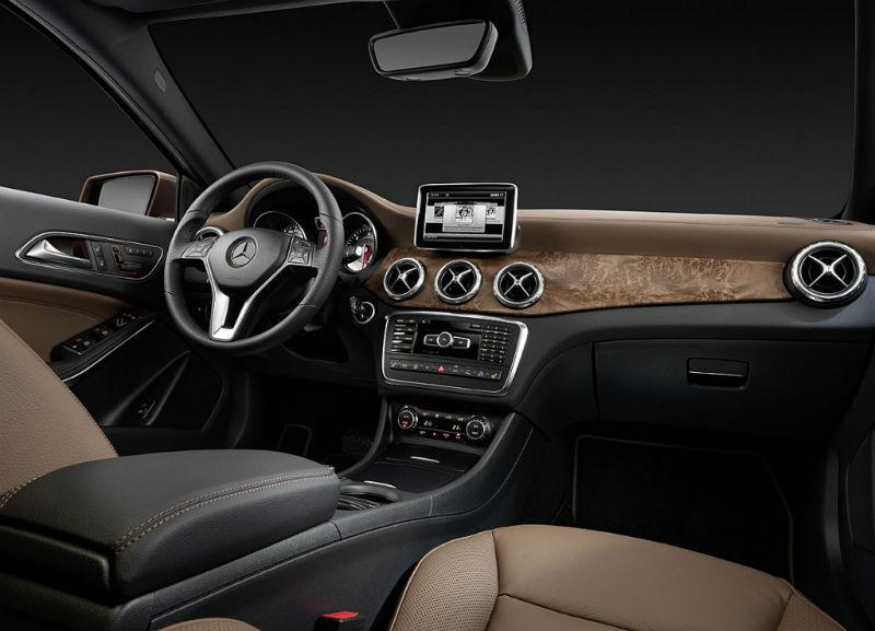 Mercedes Benz GLA Interiors