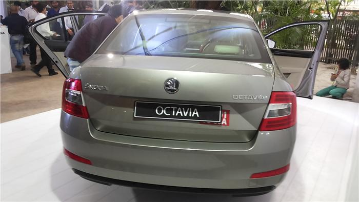 New 2013 Skoda Octavia Back View