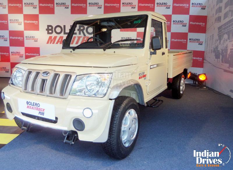 New Bolero Maxi Truck Plus