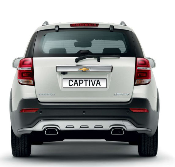 New Chevrolet Captiva facelift
