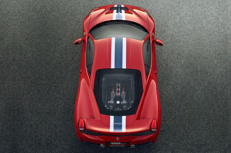New Ferrari 458 Speciale revealed