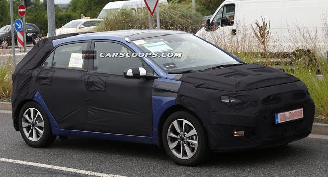 New Hyundai i20 spied