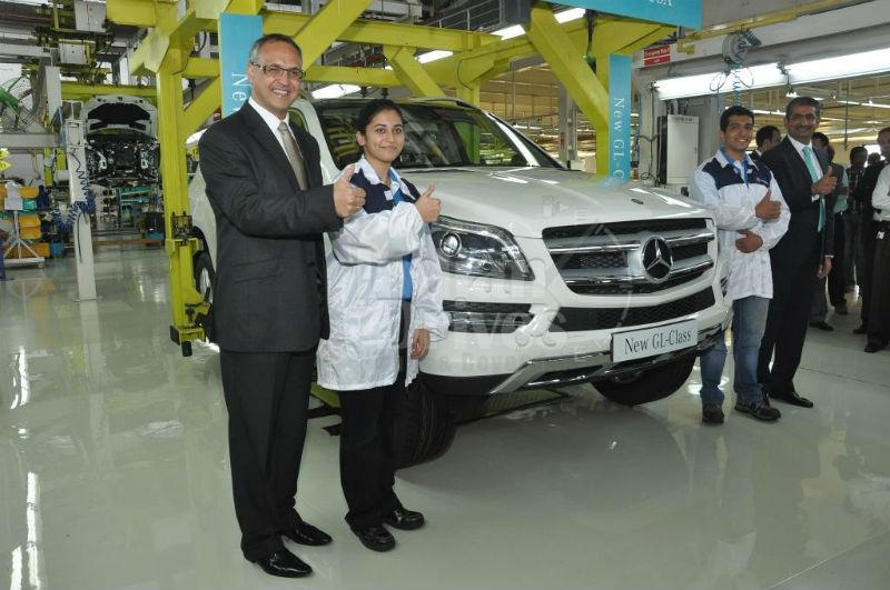 New Mercedes Benz GL Class