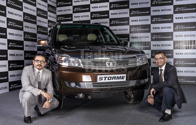 New Tata Safari Storme