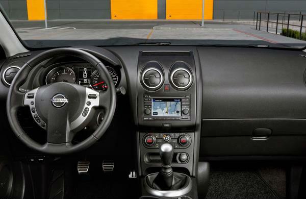 Nissan Qashqai Interiors