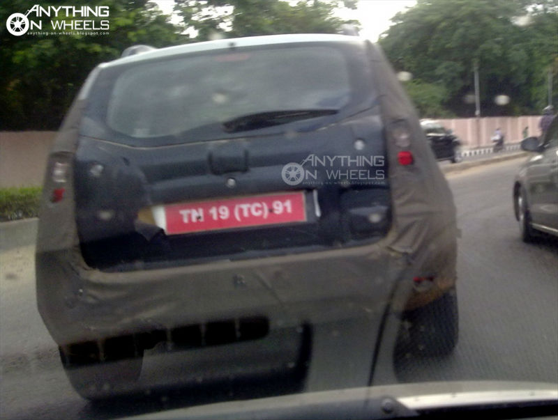 Nissan Terrano caught once again in spy shots