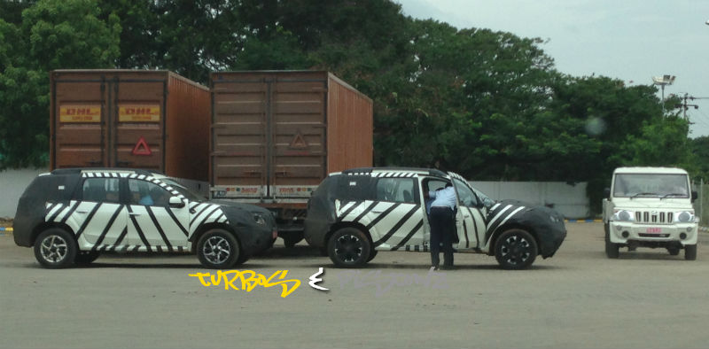 Nissan Terranos Spied Back-to-Back