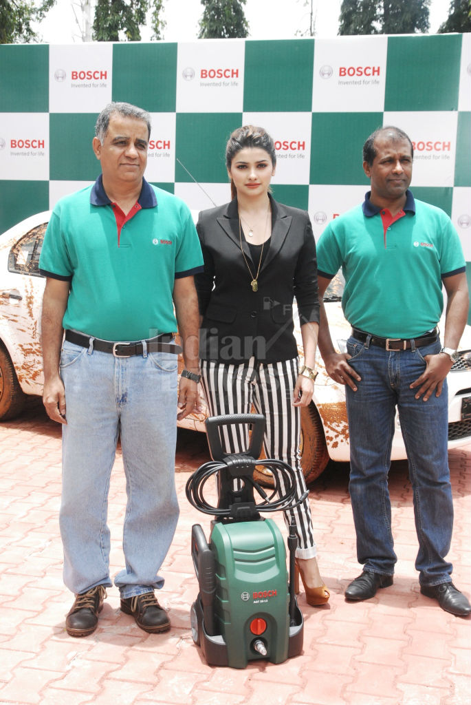 Prachi Desai launches Bosch Car