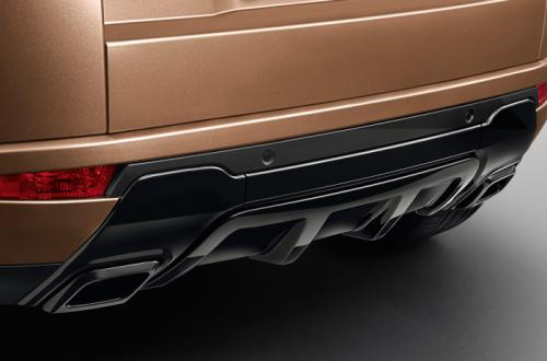 Range Rover Evoque Back View