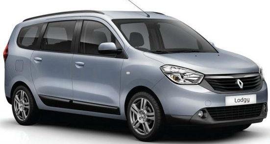 Renault badge Lodgy MPV