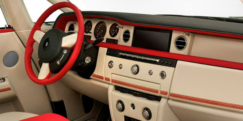 Rolls Royce Phantom Coupe Ruby interiors