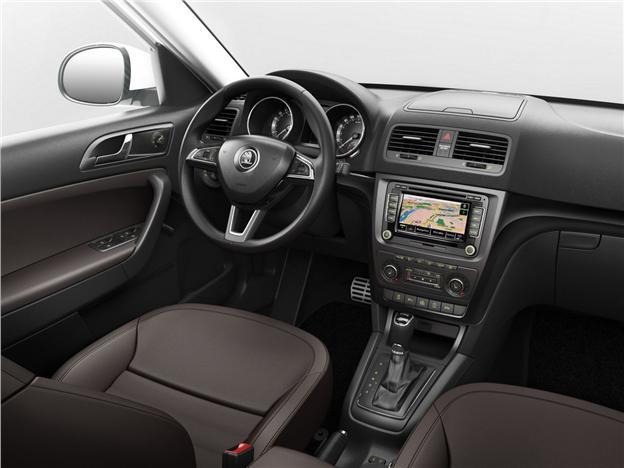 Skoda Yeti facelift Interiors