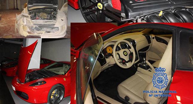 Spanish Police seizes fake Ferraris and stops their eBay sales
