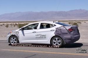 Spied 2014 Hyundai Elantra