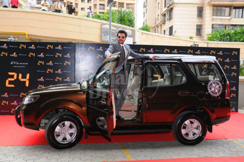 Anil Kapoor with the Safari Storme Explorer Edition