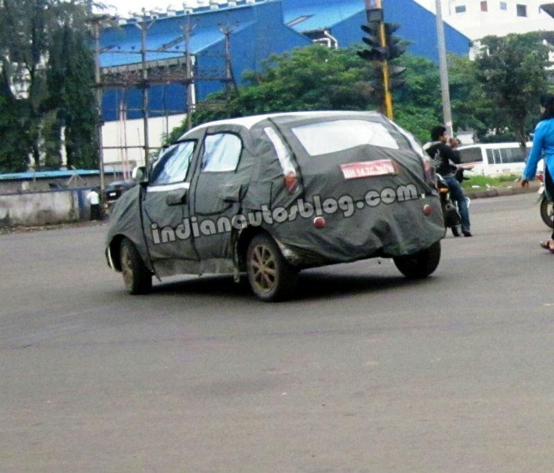Tata Vista facelift Back View