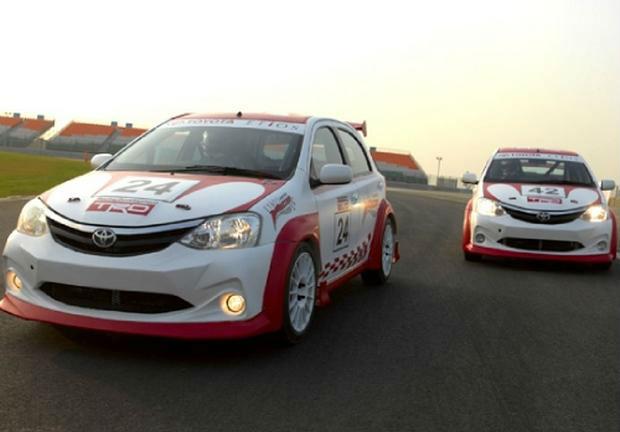 Toyota Etios Motor Racing