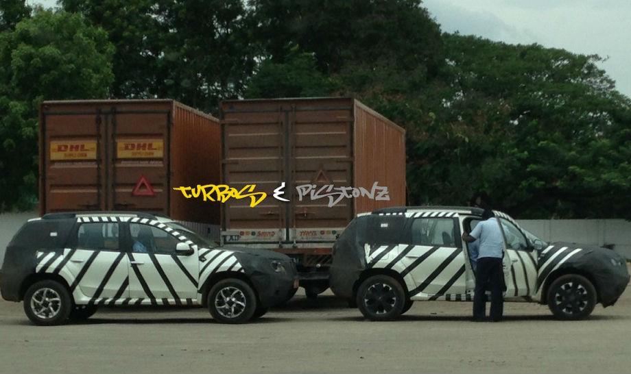 Two Nissan Terranos