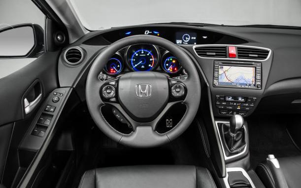 Honda Civic Tourer Interiors