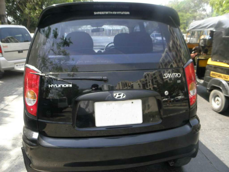 Used Santro Back View