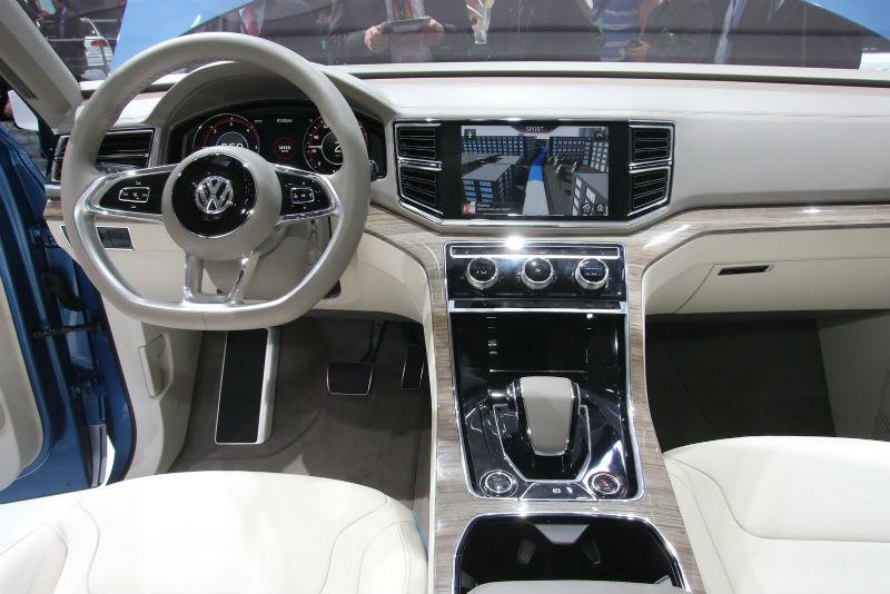 Volkswagen 7-seater crossover Interiors