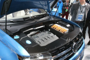 Volkswagen CrossBlue crossover Engine