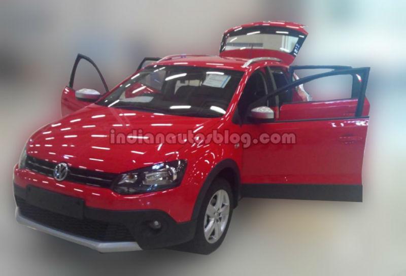 Volkswagen teases CrossPolo